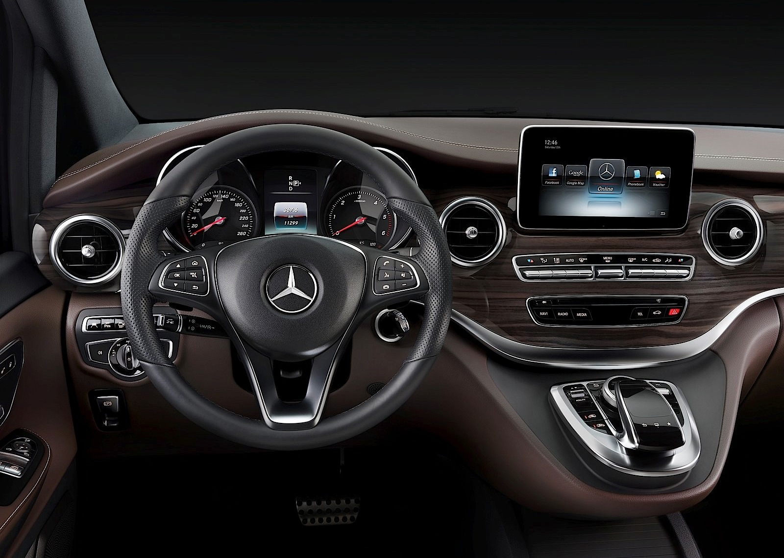 MERCEDES BENZ V-Class (W447) specs & photos - 2014, 2015 ...