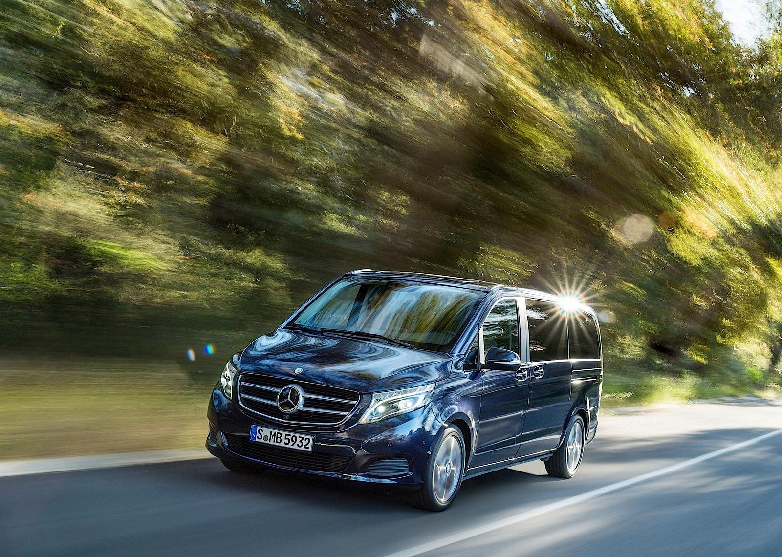Mercedes Benz V Class W447 Specs Amp Photos 2014 2015