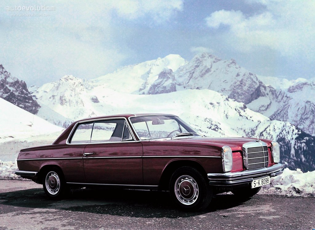 Mercedes benz strich acht coupe c114 specs 1969 for Mercedes benz walters