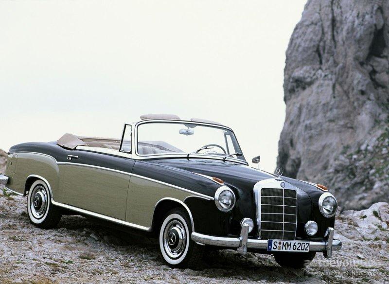 Mercedes benz ponton cabriolet w180 128 specs 1956 for Mercedes benz ponton