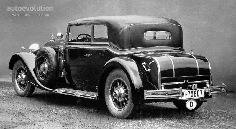 mercedes benz grosser mercedes cabriolet b w07 specs 1931 1932 1933 1934 1935 1936. Black Bedroom Furniture Sets. Home Design Ideas