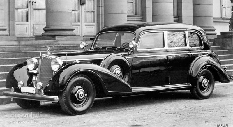 mercedes benz grosser mercedes pullman limousine w150 specs 1938 1939 1940 1941 1942. Black Bedroom Furniture Sets. Home Design Ideas