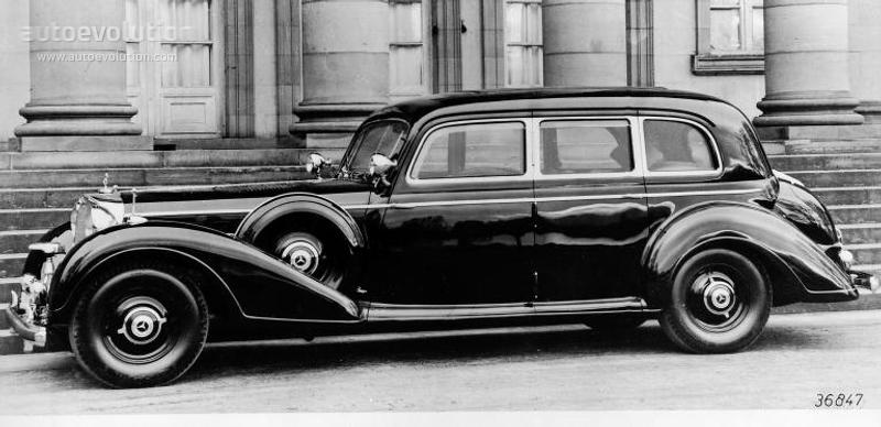 MERCEDES BENZ QuotGrosser Mercedesquot PullmanLimousine W150