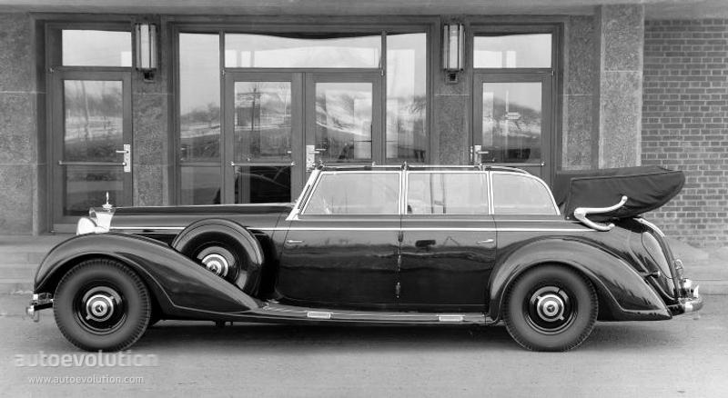 "Golf R 400 >> MERCEDES BENZ ""Grosser Mercedes"" Cabriolet F (W150) specs & photos - 1939, 1940, 1941, 1942 ..."