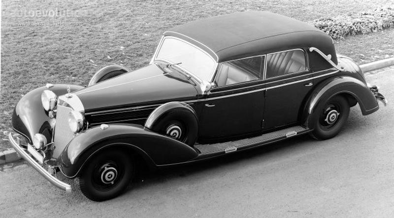 Скачать файл MERCEDES BENZ Grosser Mercedes Cabriolet D (W150) 1938 - 1943
