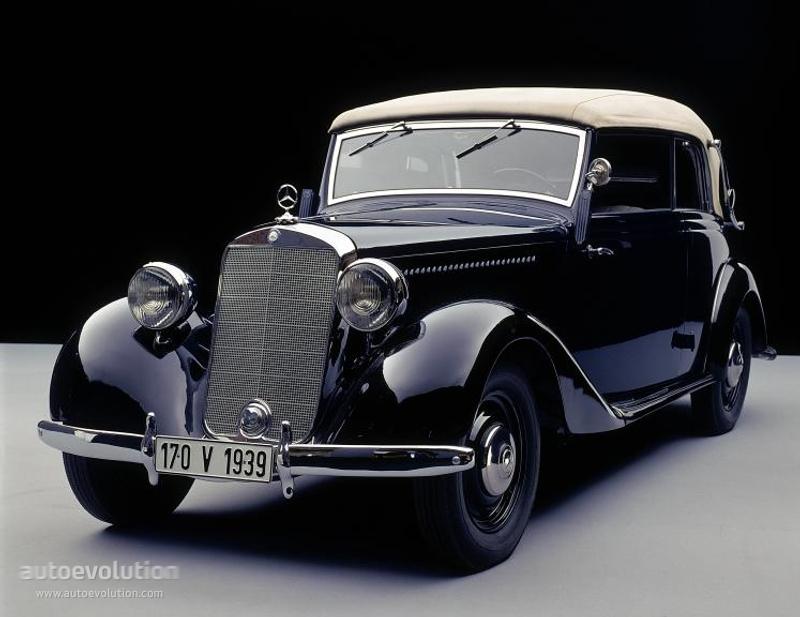 Mercedes benz 170 v cabriolet b w136 specs 1937 1938 for 1946 mercedes benz
