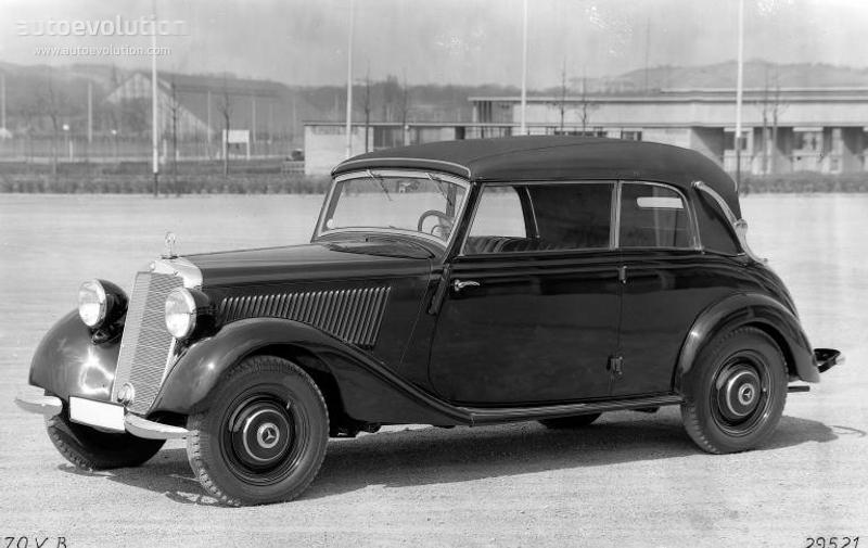 Mercedes Benz 170 V Cabriolet B W136 Specs 1937 1938