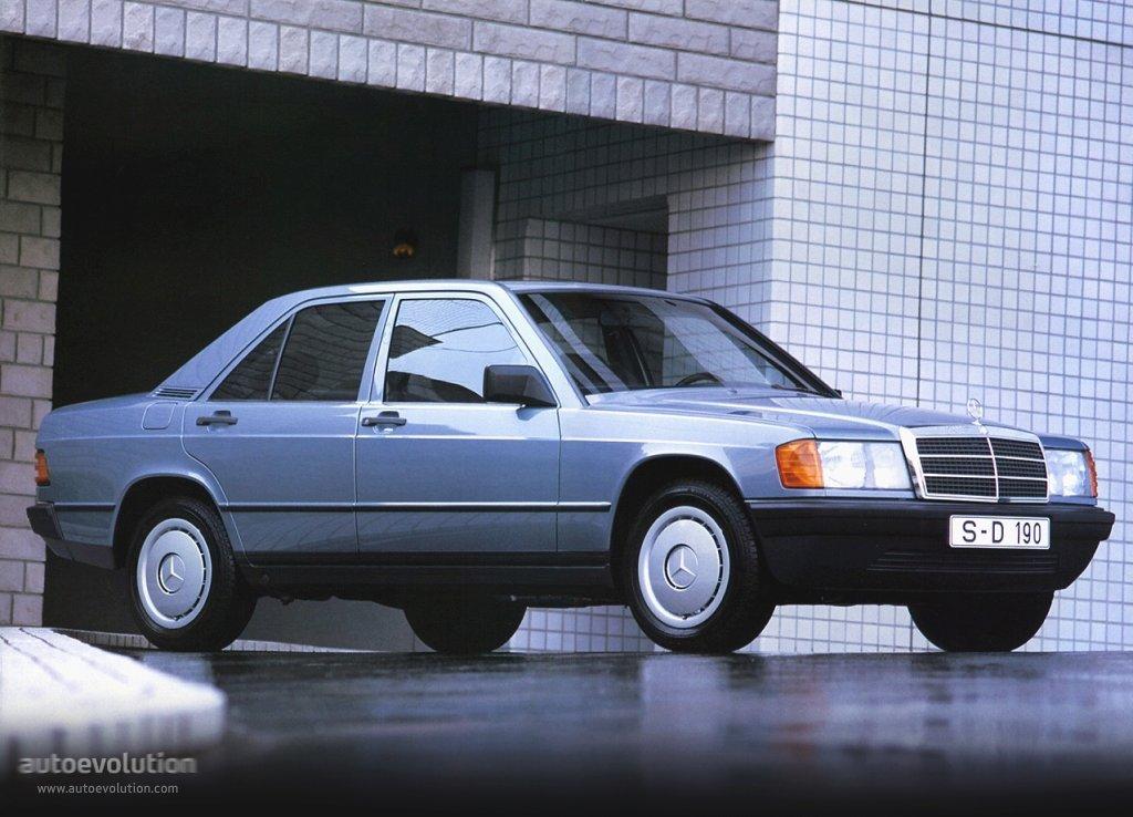 MERCEDES BENZ 190 (W201) - 1982, 1983, 1984, 1985, 1986, 1987 ...