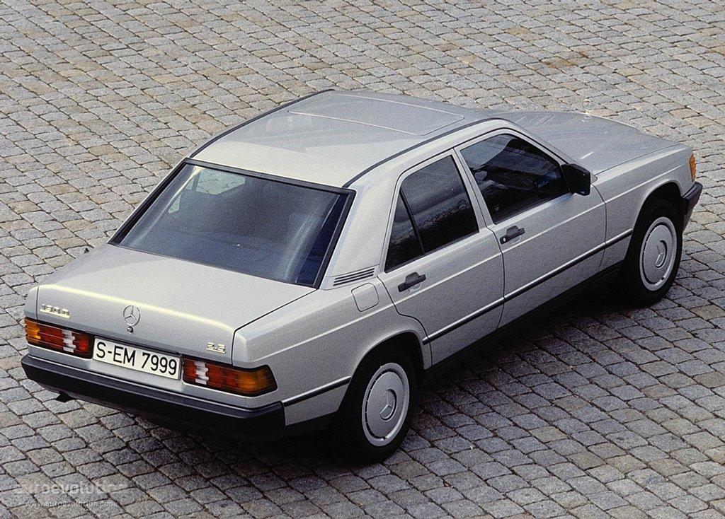 Mercedes Benz 190 W201 Specs Photos 1982 1983 1984 1985