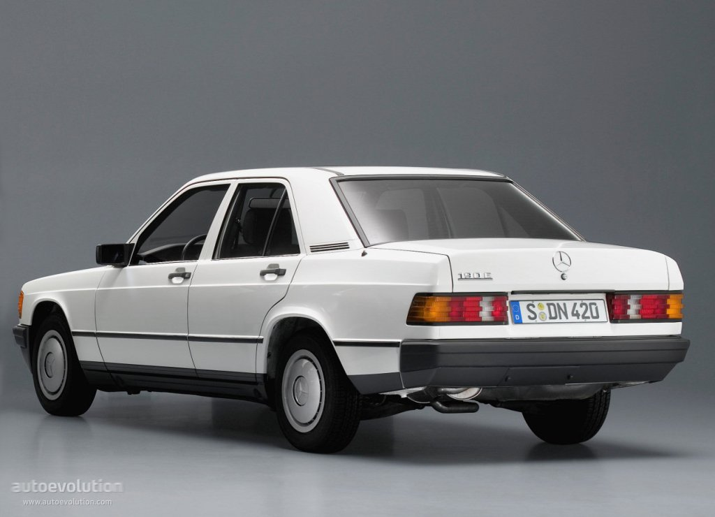 Mercedes benz 190 w201 1982 1983 1984 1985 1986 for Autos mercedes benz