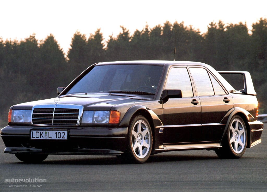 mercedes benz 190 e 2 5 16 evolution ii 1990 1991. Black Bedroom Furniture Sets. Home Design Ideas