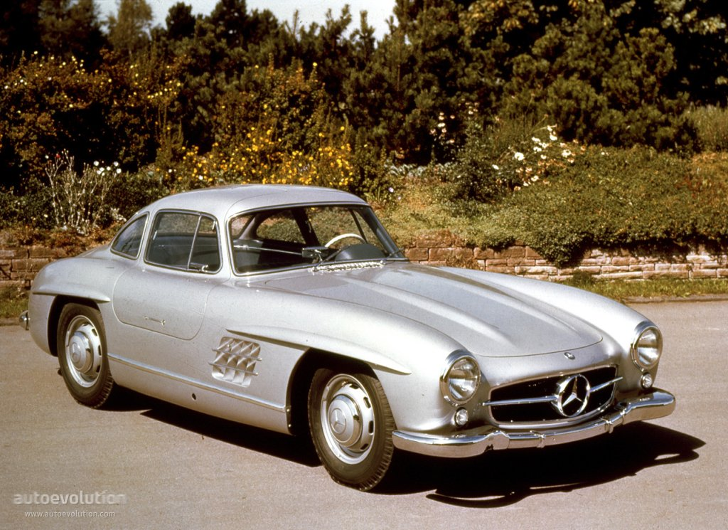 Mercedes benz 300 sl coupe w198 specs 1954 1955 1956 for 1954 mercedes benz 300sl