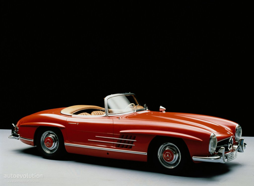 Mercedes benz 300 sl roadster w198 1957 1958 1959 for Mercedes benz sl coupe