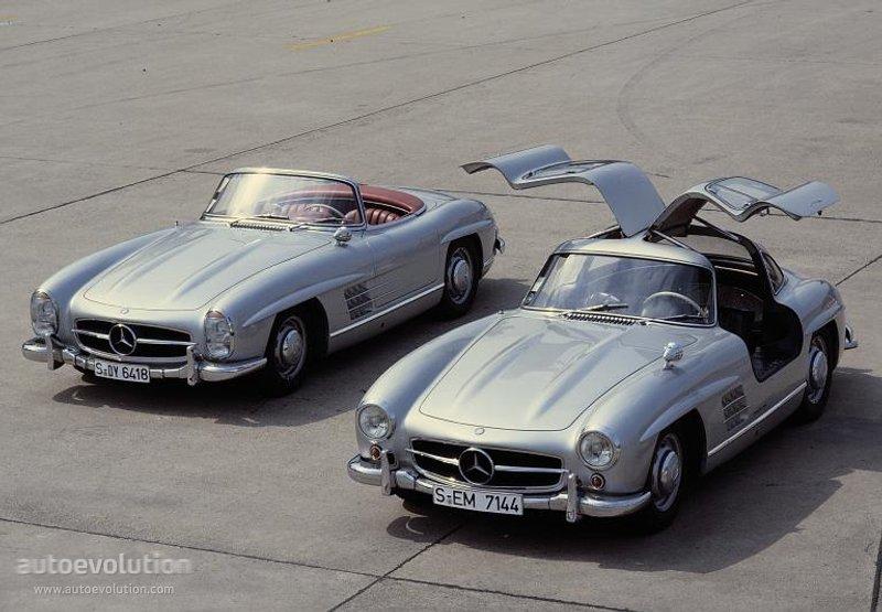 Mercedes benz 300 sl roadster w198 specs 1957 1958 for Mercedes benz slk 300