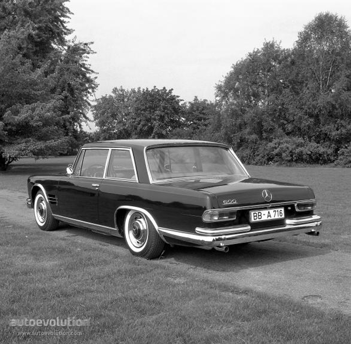 mercedes benz 600 coupe c100 1965 autoevolution