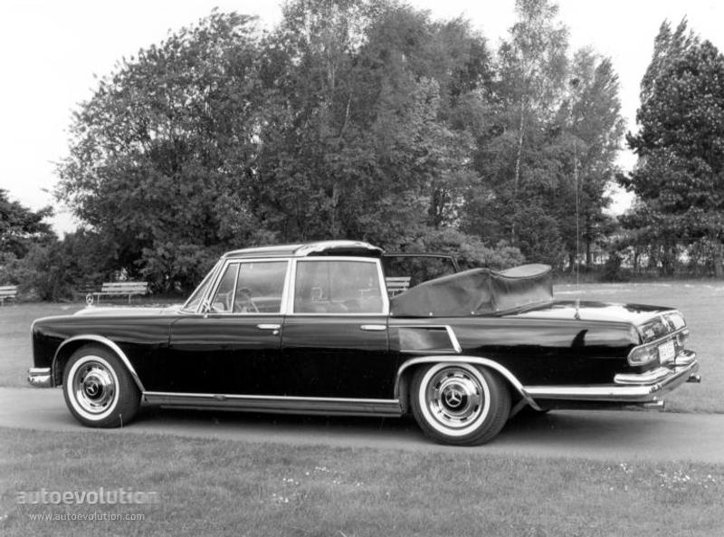 Mercedes Benz 600 Landaulet W100 Specs 1965 1966