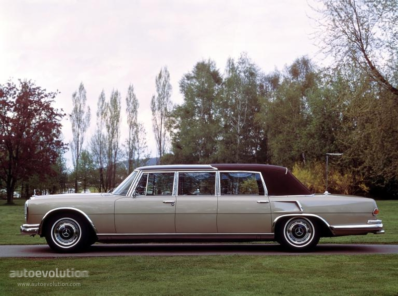 Mercedes benz 600 pullman landaulet v100 1965 1966 for Mercedes benz pullman