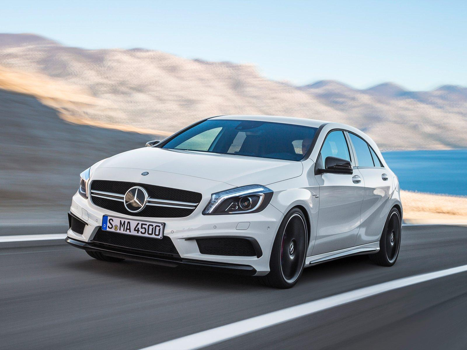 mercedes benz a45 amg 2013 2014 2015 autoevolution