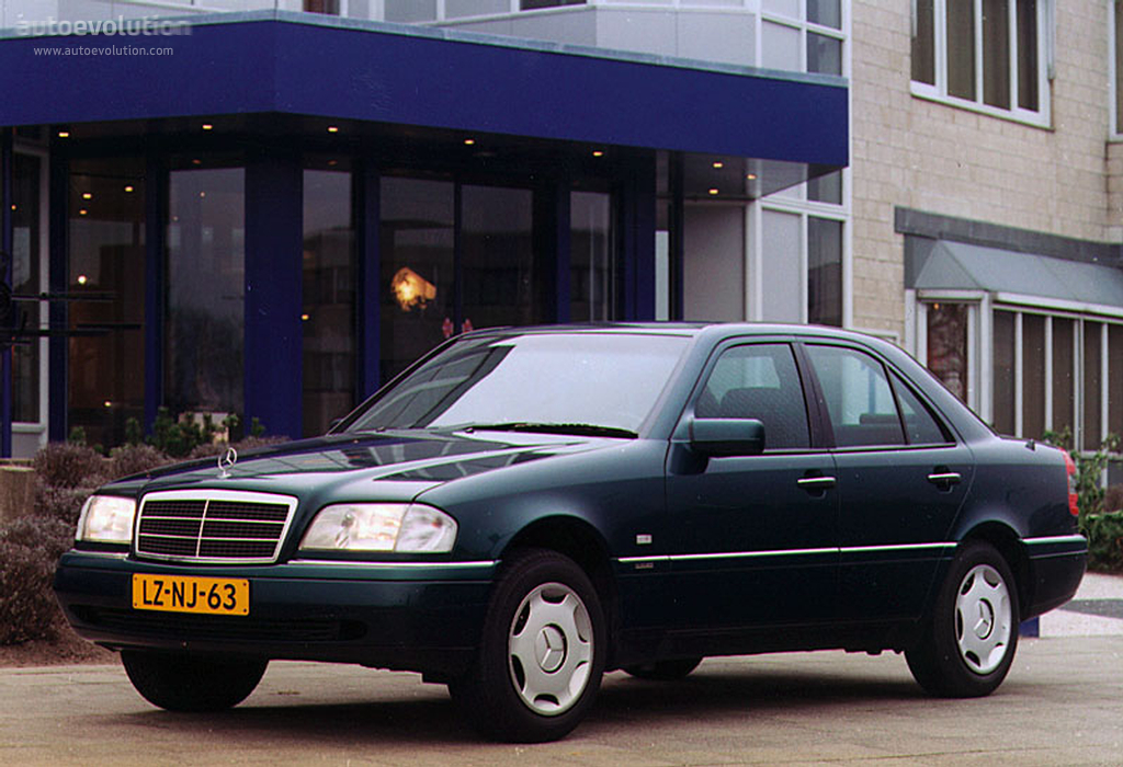 mercedes benz c klasse w202 specs photos 1993 1994. Black Bedroom Furniture Sets. Home Design Ideas