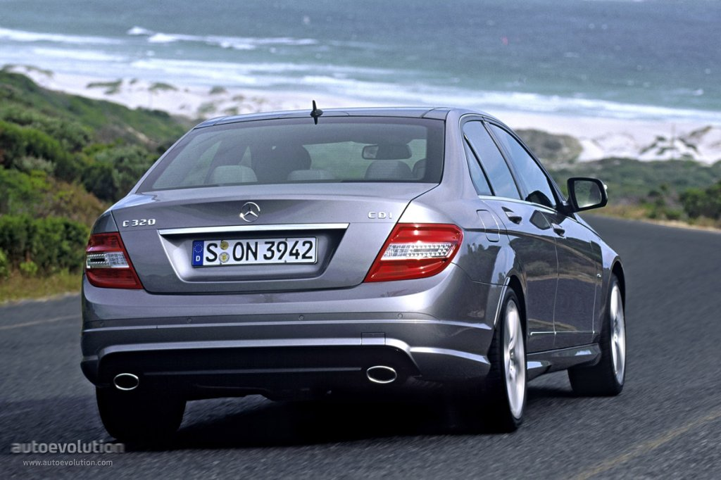 mercedes benz c klasse w204 specs photos 2007 2008. Black Bedroom Furniture Sets. Home Design Ideas