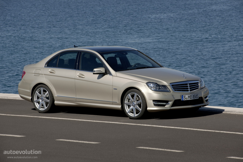 mercedes benz c klasse w204 specs photos 2011 2012. Black Bedroom Furniture Sets. Home Design Ideas