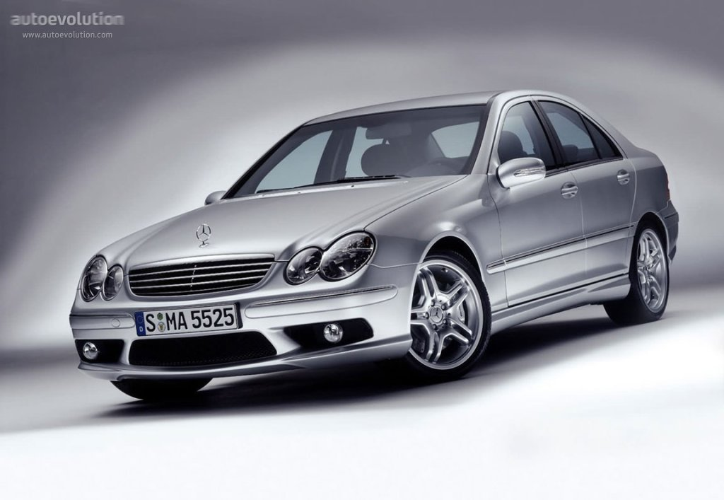 mercedes benz c 55 amg w203 specs photos 2004 2005. Black Bedroom Furniture Sets. Home Design Ideas