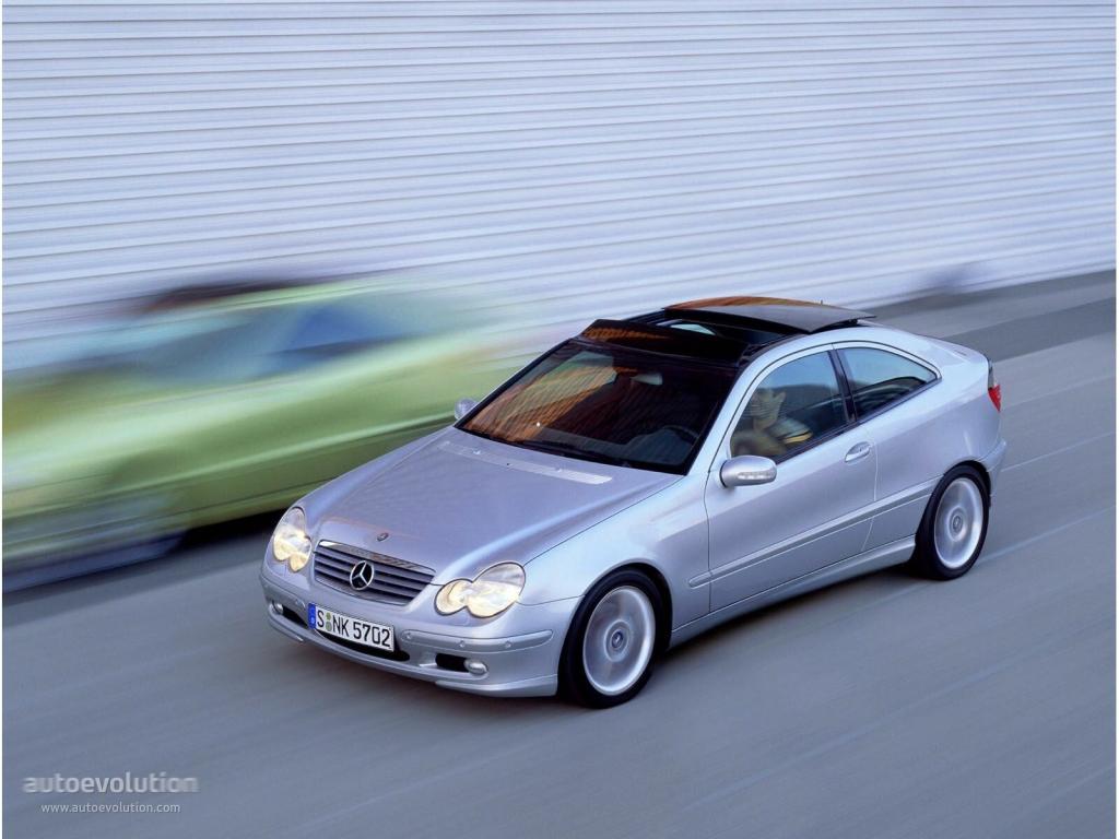 Mercedes C180 Coupe >> MERCEDES BENZ C-Klasse SportCoupe (C203) specs & photos - 2000, 2001, 2002, 2003, 2004 ...