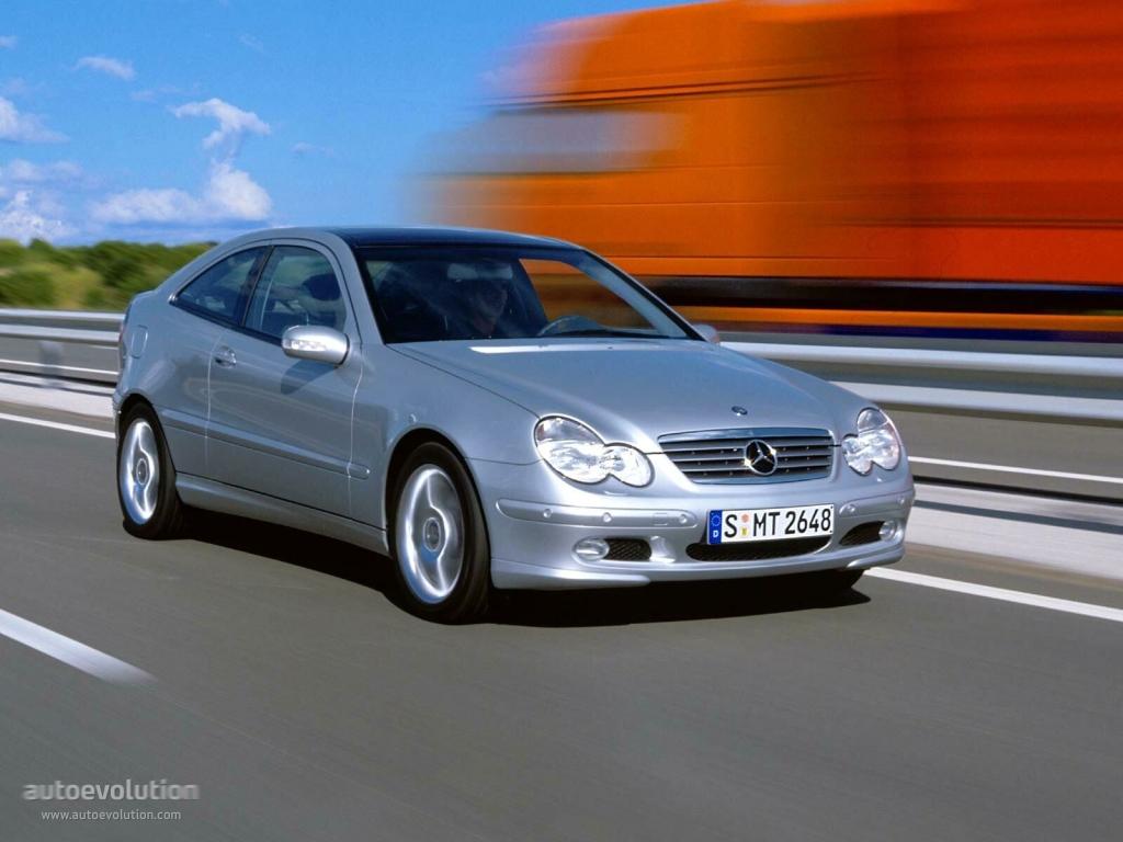 Mercedes benz c klasse sportcoupe c203 2000 2001 for Mercedes benz 330