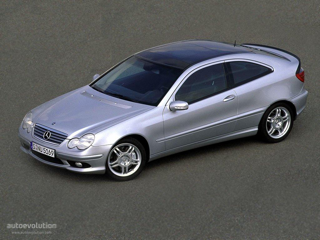 Mercedes benz c klasse sportcoupe amg c203 2000 2001 for Mercedes a klasse amg interieur