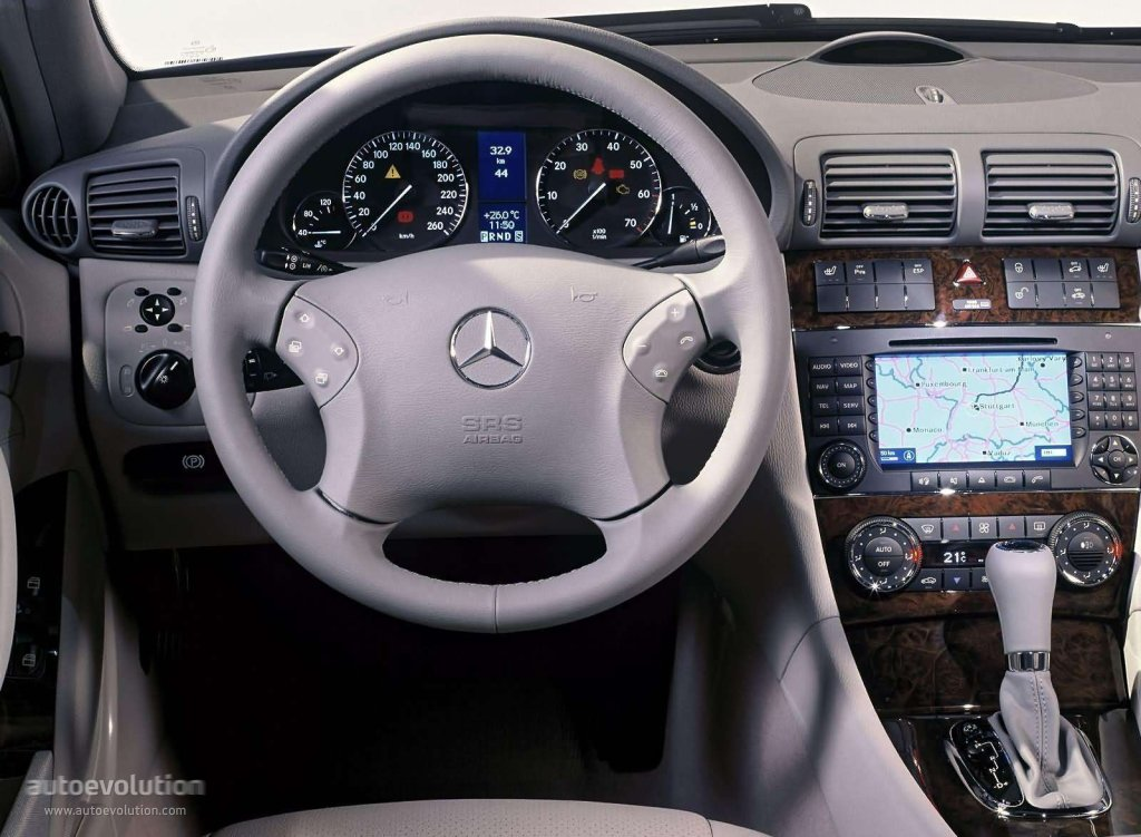 mercedes benz c-klasse t-modell (w203) specs & photos - 2004, 2005