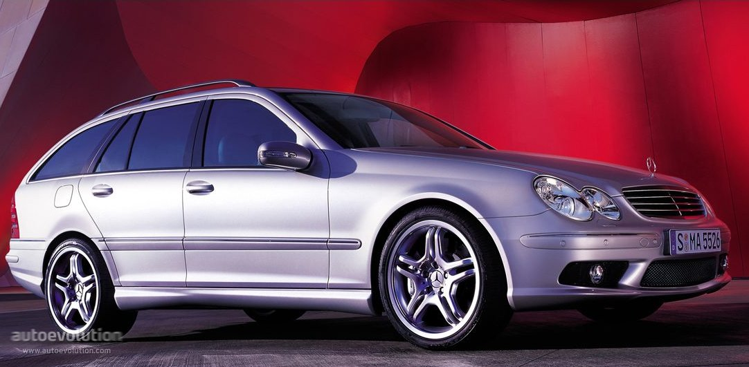 Mercedes Benz C 55 Amg T Modell S203 Specs Photos 2004 2005