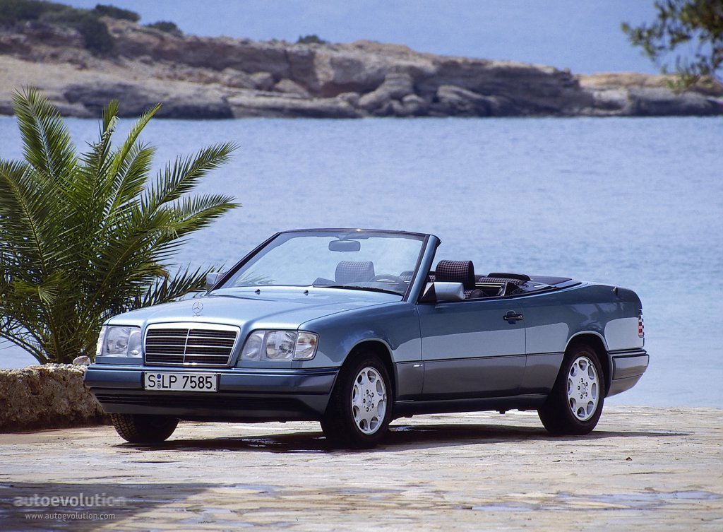 mercedes benz ce cabriolet a124 specs photos 1995 1996 1997 autoevolution. Black Bedroom Furniture Sets. Home Design Ideas