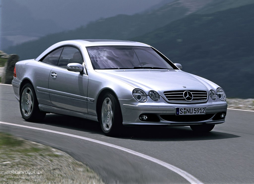 mercedes benz cl c215 specs photos 2002 2003 2004. Black Bedroom Furniture Sets. Home Design Ideas