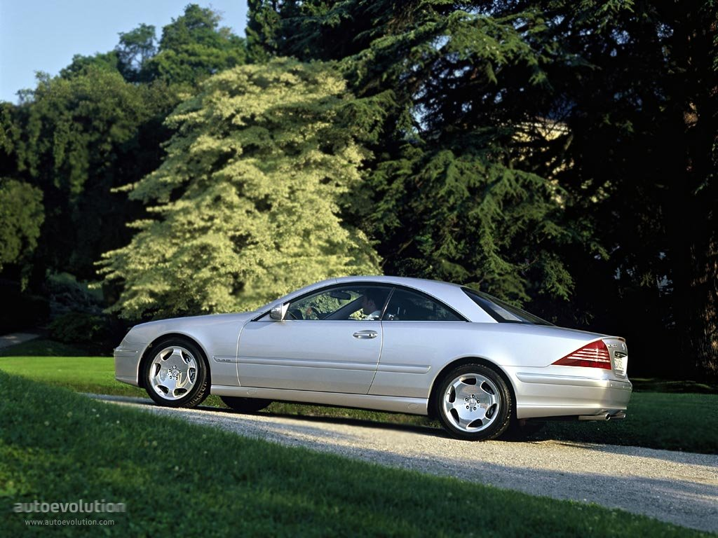 Mercedesbenzcl C on 2003 Acura Cl