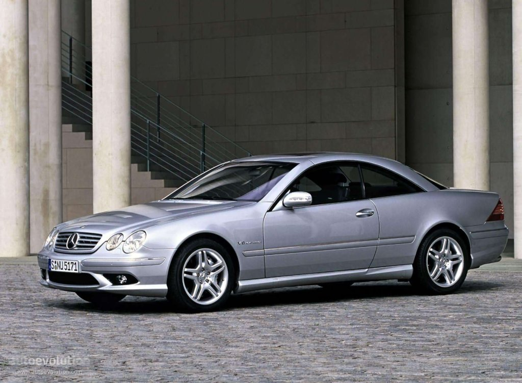 mercedes benz cl 55 amg c215 specs photos 2002 2003 2004 2005 2006 autoevolution. Black Bedroom Furniture Sets. Home Design Ideas