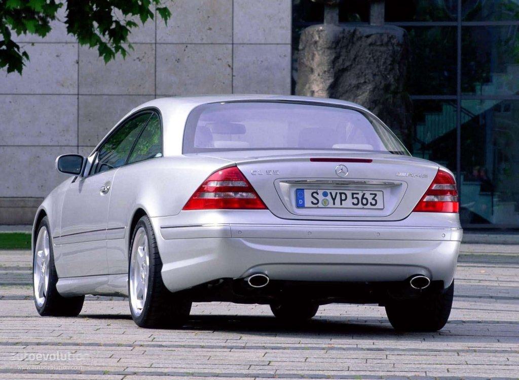 Mercedes benz cl 55 amg c215 2000 2001 2002 for Mercedes benz of cleveland
