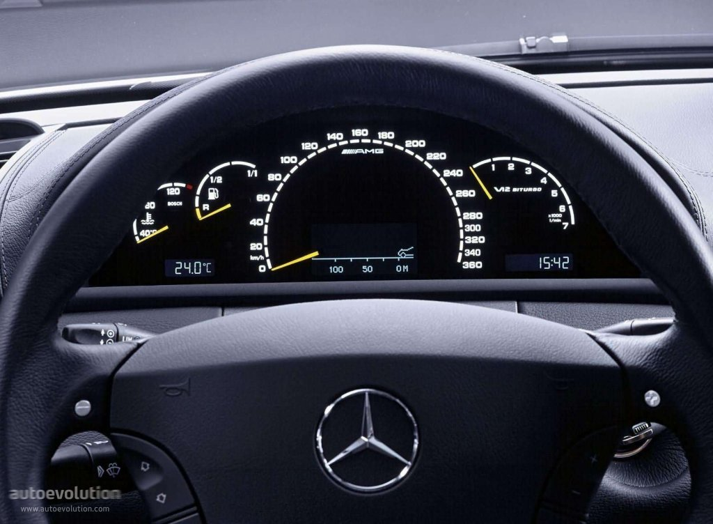 mercedes benz cl 65 amg c215 specs 2003 2004 2005 2006 autoevolution. Black Bedroom Furniture Sets. Home Design Ideas