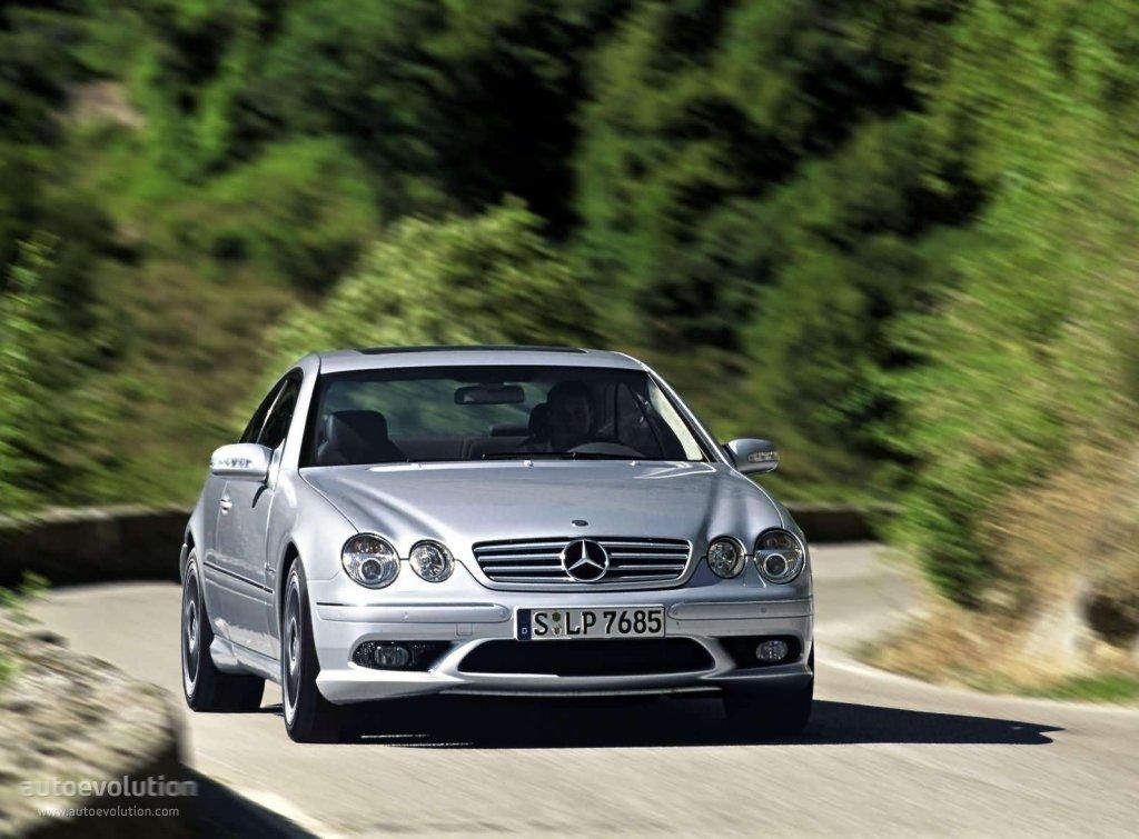 Mercedes Benz Cl 65 Amg C215 2003 2006