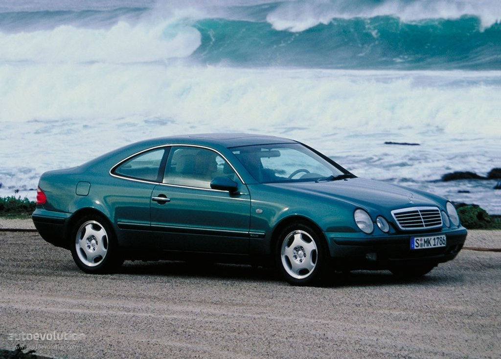 Mercedes Benz Clk C208 1997 on buick cabriolet