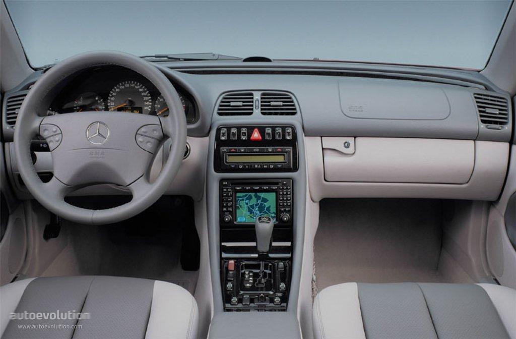Mercedes Benz Clk C208 1999 2000 2001 2002