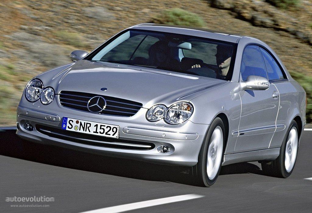 Mercedes benz clk c 209 specs 2002 2003 2004 2005 for Mercedes benz clk 2002