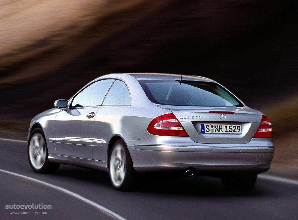 Mercedes benz clk c 209 specs 2002 2003 2004 2005 for 2004 mercedes benz clk500