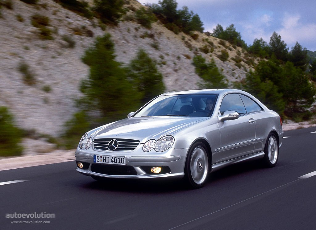 Mercedes benz clk 55 amg c209 2003 2004 2005 2006 for Mercedes benz 2003