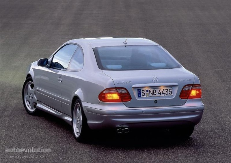 mercedes benz clk 55 amg c208 specs photos 1999. Black Bedroom Furniture Sets. Home Design Ideas