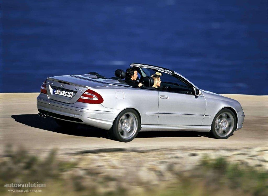 Mercedes benz clk 55 amg cabrio a209 2003 2004 2005 for Mercedes benz clk 2006