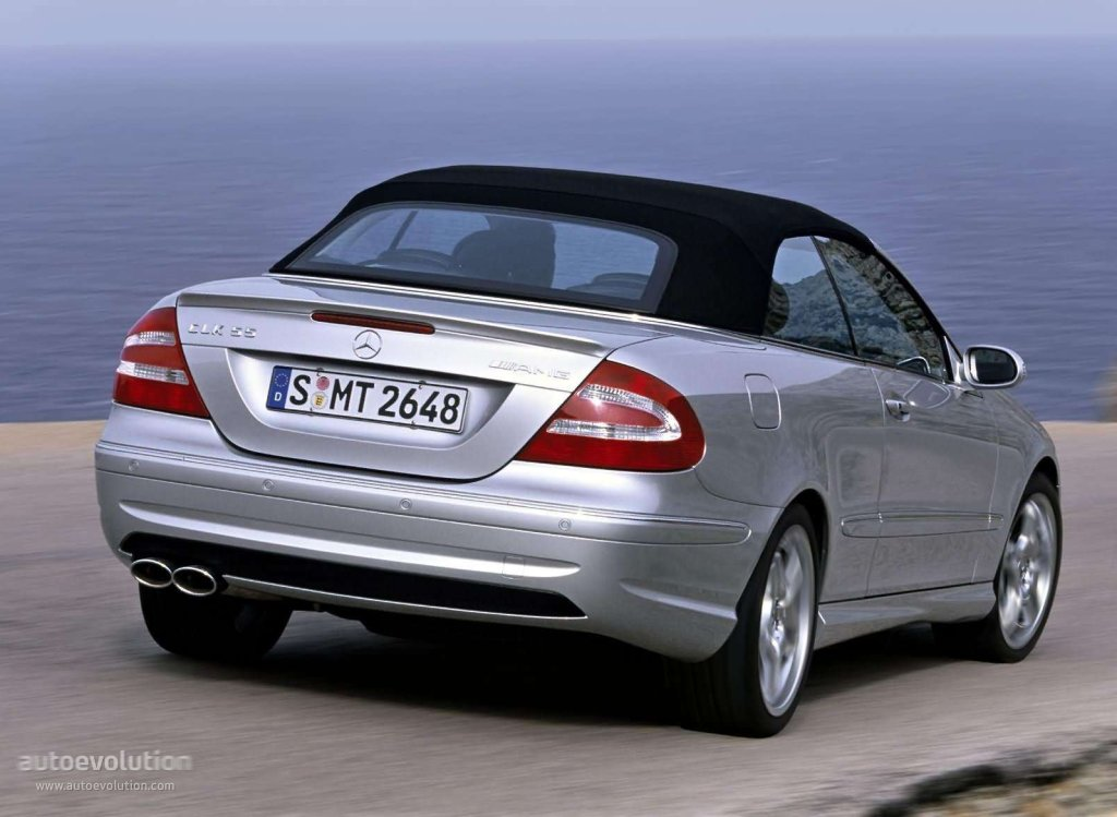 Mercedes benz clk 55 amg cabrio a209 specs 2003 2004 for Mercedes benz specs