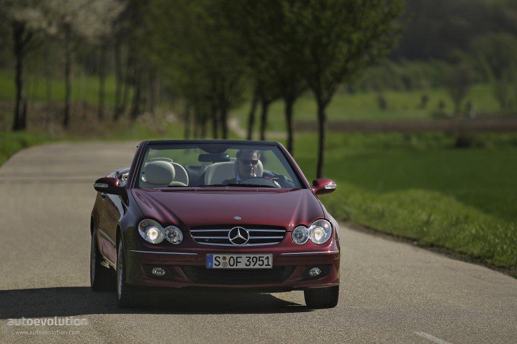 Mercedes benz clk cabrio a209 2005 2006 2007 2008