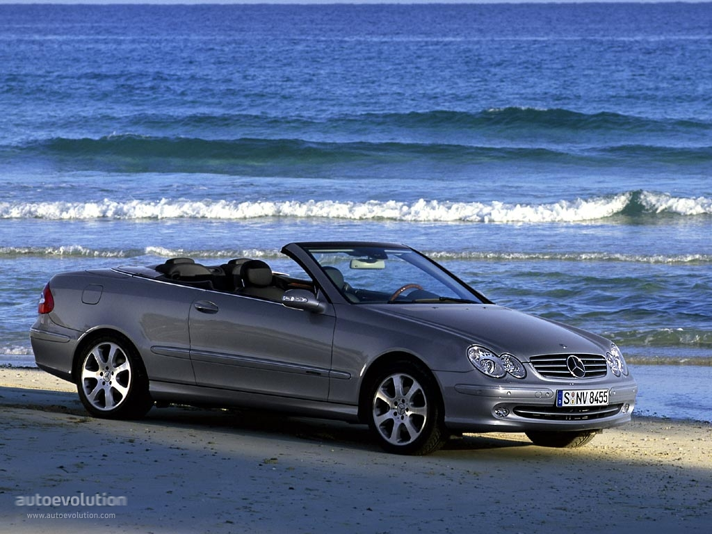 mercedes benz clk cabrio a209 2003 2004 2005 autoevolution. Black Bedroom Furniture Sets. Home Design Ideas