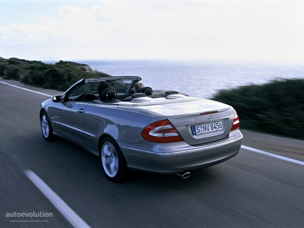 mercedes benz clk cabrio a209 specs photos 2003 2004 2005 autoevolution. Black Bedroom Furniture Sets. Home Design Ideas