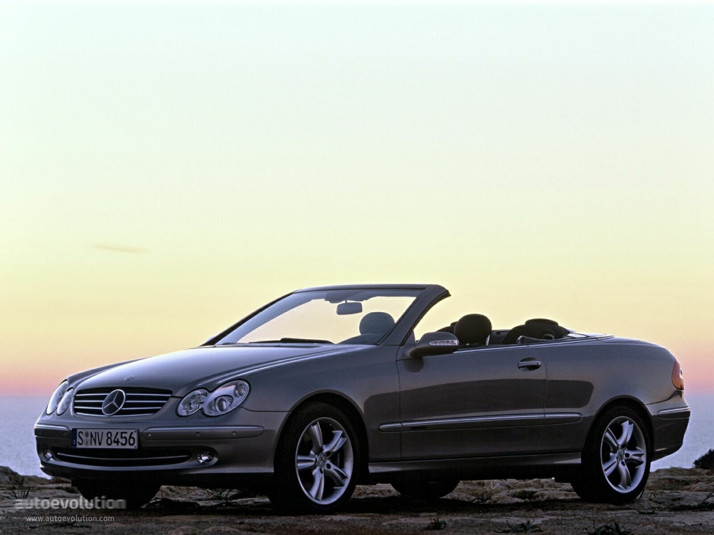 Mercedes benz clk cabrio a209 specs 2003 2004 2005 for Mercedes benz clk 2005